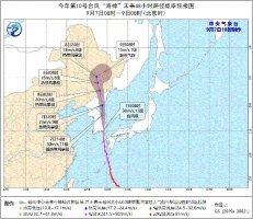 """台风""""海神""""已登陆韩国 我国东北地区暴雨现身"""
