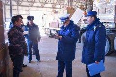 黑河市消防救援支队联合交通运输部门开展仓储物流场所消防安全专项检查