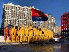 黑龙江:哈尔滨消防成立疫情期间消杀处置机动队并开展实战训练