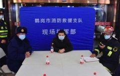 黑龙江:鹤岗消防组织开展大型商业综合体夜间灭火救援联合实战演练