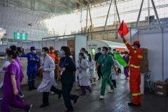 """黑龙江:哈尔滨消防组织开展""""火眼""""实验室疏散灭火救援演练"""