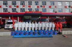黑龙江:齐齐哈尔消防开展疫情处置一线机动队消杀演练