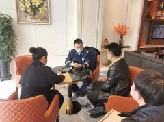 哈尔滨滨松北大队深入辖区酒店开展消防技术服务指导