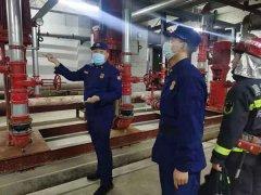 黑龙江:齐齐哈尔市消防救援支队建华区消防救援大队深入辖区大型商业综合体开展水系统测