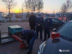 绥化市消防救援支队全力筑牢当前火灾防控壁垒