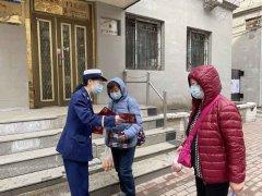 """哈尔滨市道里区消防救援大队开展""""我为群众办实事""""消防宣传进社区活动"""