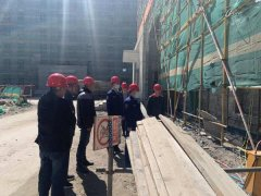 齐齐哈尔市消防救援支队建华区消防救援大队深入辖区在建工地开展上门指导服务