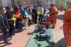 齐齐哈尔市消防救援支队铁锋区消防救援大队组织开展消防志愿服务活动