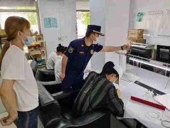 齐齐哈尔消防支队深入企业开展消防安全服务指导工作