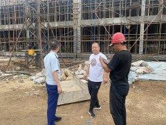 伊春消防救援支队深入辖区在建工地开展消防安全专项检查