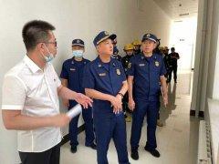 大庆消防救援支队深入高新区知行大厦开展高层建筑熟悉踏查消防等设备