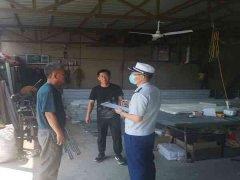 齐齐哈尔消防支队针对城乡结合部的小工厂、小作坊进行消防安全隐患排查